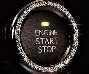 Car Ignition Button Bling