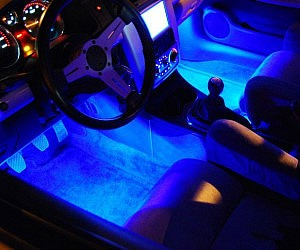 Led Lights For Car Interior >> Car Interior Lighting Kit