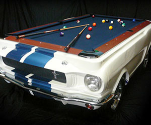 Shelby GT Pool Table - Mustang pool table