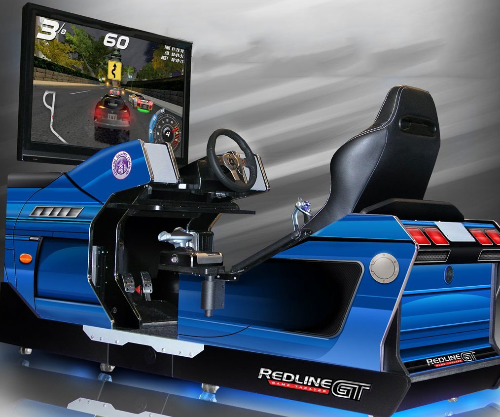 Full Immersion Racing Simulator - coolthings.us
