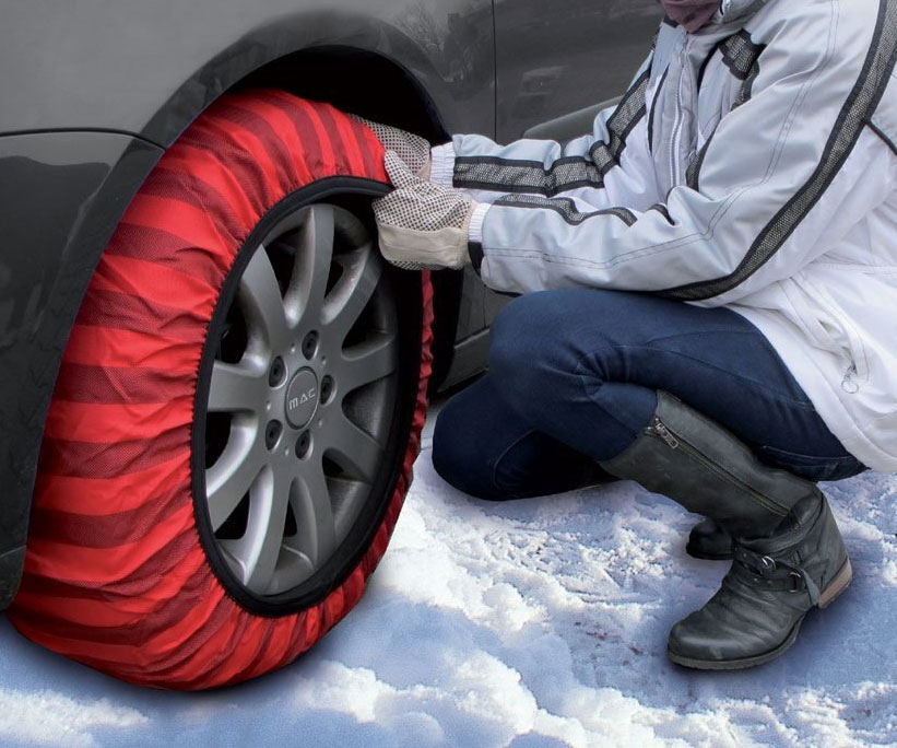 Snow Traction Tire Socks - coolthings.us