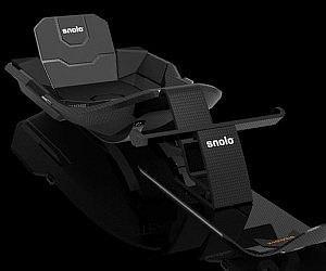 Carbon Fiber Snow Sled