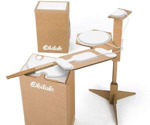 Cardboard Drum Kit