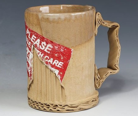 Ceramic mugs that look like cardboard urtaz Choice Image