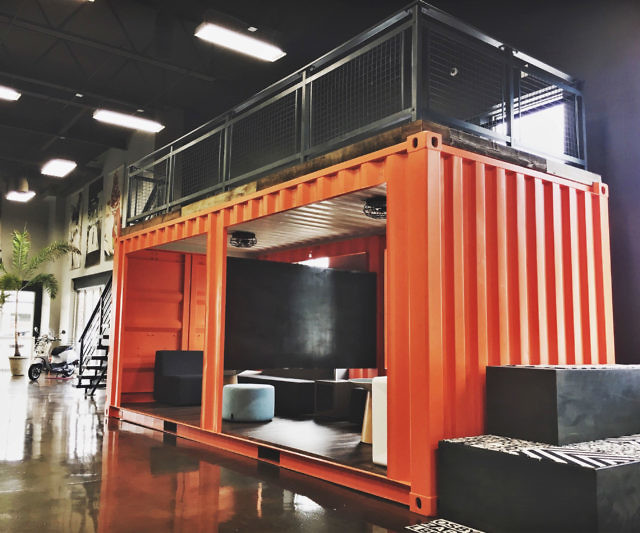 Cargo Container Office Space