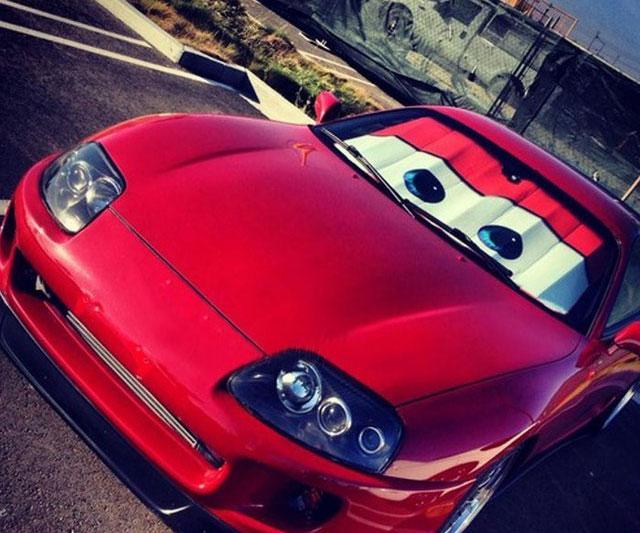Cars Lightning McQueen Sunshade ad4ebbc4b57