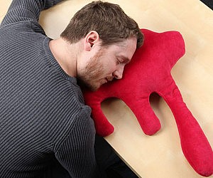 Cartoon Blood Pool Pillow