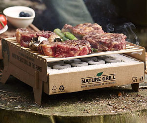 Portable Biodegradable Grill