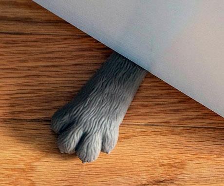 Cat Paw Doorstop & Paw Doorstop