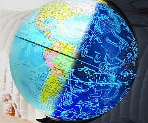 Glowing Constellations Globe