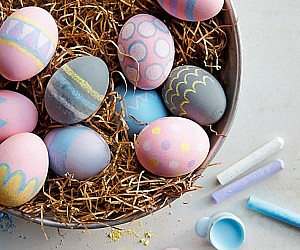 Chalk Egg Decorating Kit