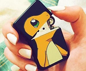 charmander pokemon lighter