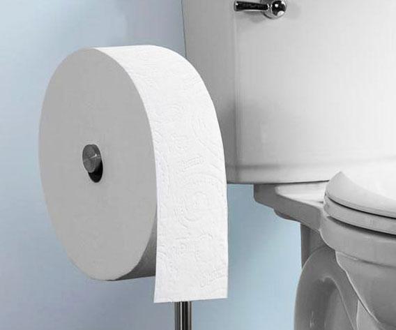 Charmin Forever Toilet Paper Roll