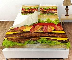 Perfect Cheeseburger Bed Set