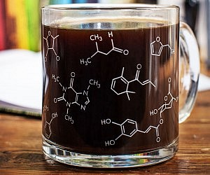 Chemistry Molecules Coffee Mug