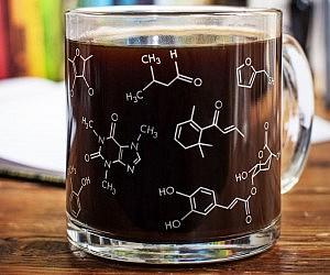 Chemistry Molecules Coffee Mug