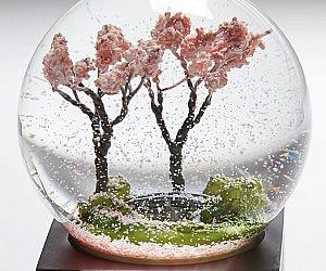 Cherry Blossom Tree Snow Globe