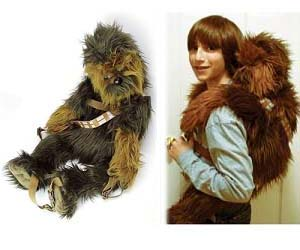 Wars Chewbacca Backpack - Hoodie will turn you into chewbacca from star wars
