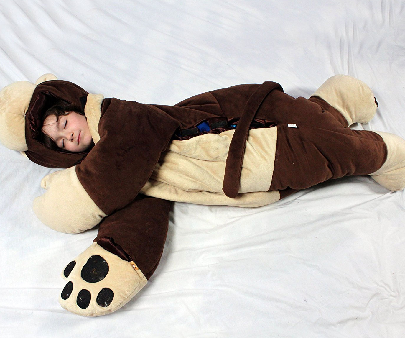 Kid's Monkey Sleeping Bag