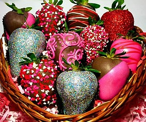 belgian chocolate covered strawberries - Christmas Chocolate Covered Strawberries