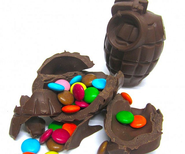 Chocolate Hand Grenade