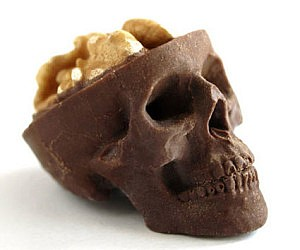 Mini Chocolate Skulls