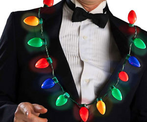 Christmas Light Bulbs Neck...