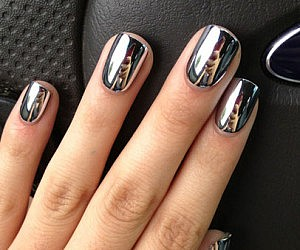 Chrome Stick-on Nails