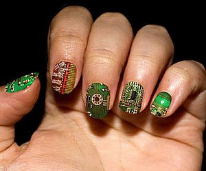 Circuit Board Fingernails