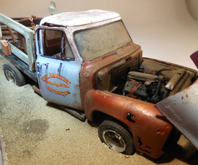 Wrecked & Rusted Model Cars