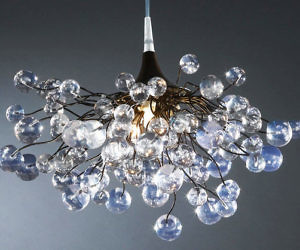 Awesome Clear Bubbles Ceiling Lamp