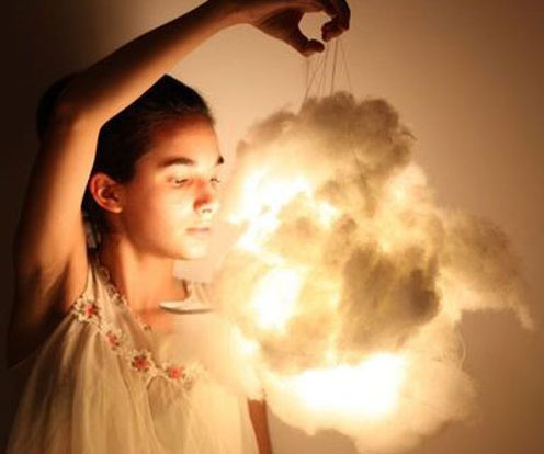 Light Up Cloud Lamps