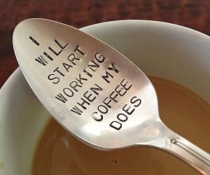 Coffee Drinker's Spoon
