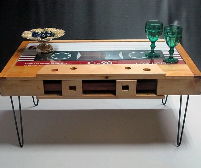 Perfect Cassette Tape Coffee Table