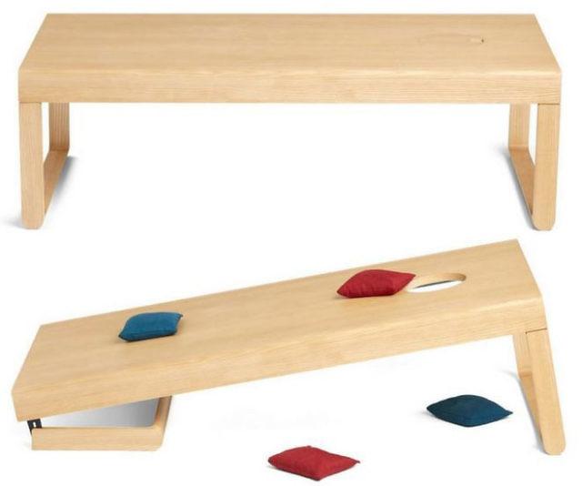 Surprising Cornhole Board Coffee Table Uwap Interior Chair Design Uwaporg