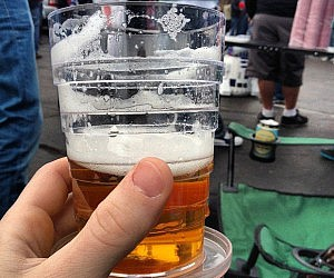 Collapsible Beer Glass