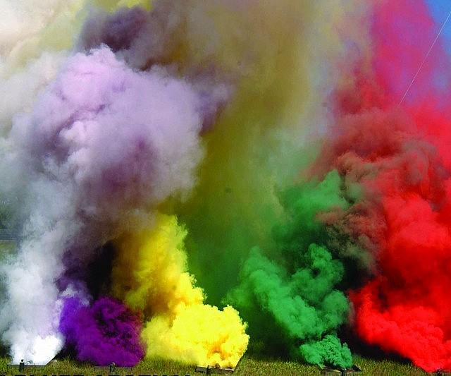 Colored Smoke Grenades