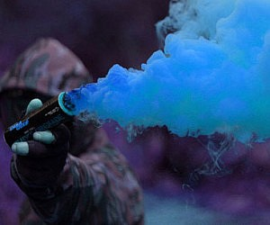 Colorful Smoke Grenades