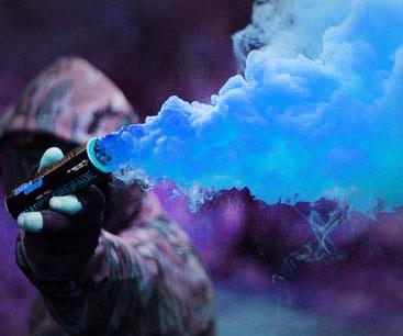 Colorful Smoke Grenades