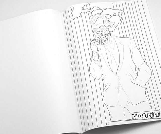 X Files Coloring Book
