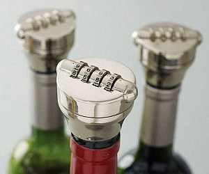 Mix Wine Bottle Lock