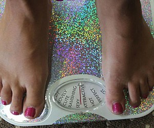 Complimenting Weight Scale