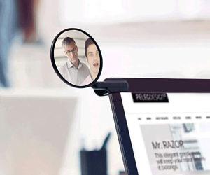 Computer Rear View Mirror