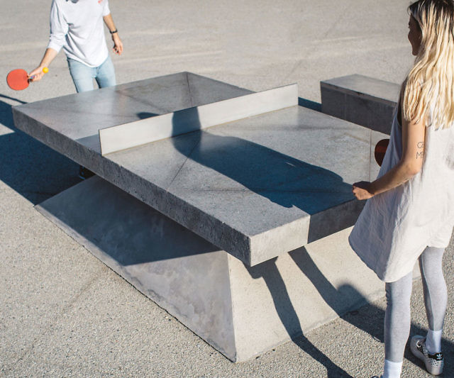 concrete ping pong table rh thisiswhyimbroke com concrete ping pong table restoration hardware concrete ping pong table price