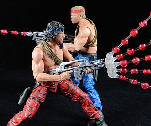 Contra Action Figures