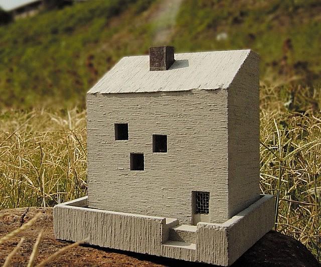 Mini Cottage Incense Burner