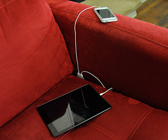 Couch Charging Outlet