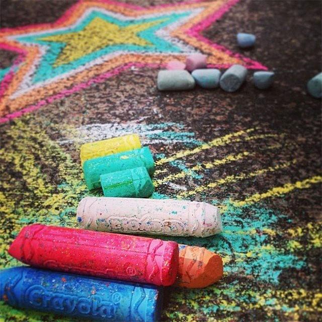 Sidewalk Chalk Ideas & Games   Boston Parents Paper
