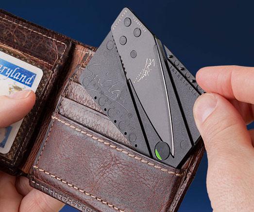 Credit Card Sized Folding Knife