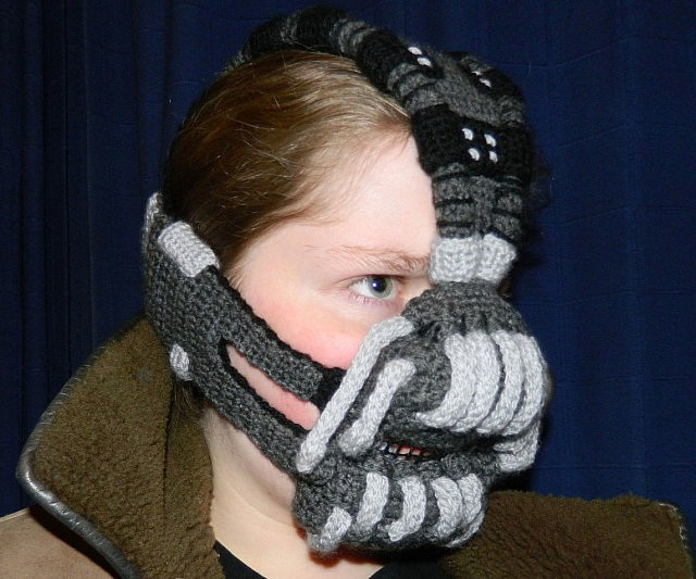 Crocheted Bane Mask